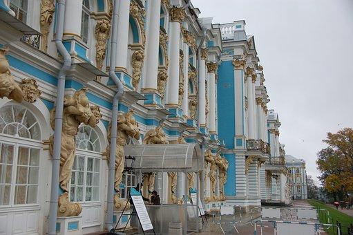 Catherine Palace, Buildings, St Petersburg, Travel