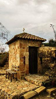 Cyprus, Ormidhia, Cave, Chapel