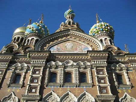 St Petersburg, Church Of The Savior On Blood, Tourism