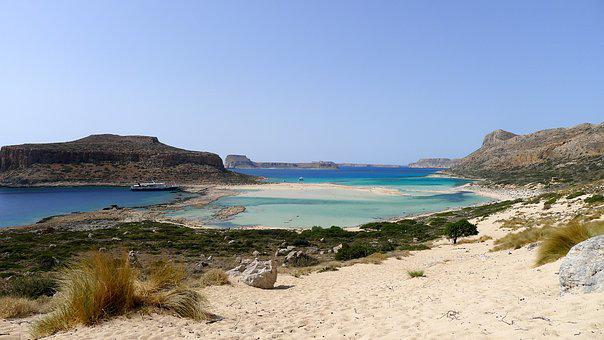 Sea Bay, Beach, Balos Beach, Crete, Greece