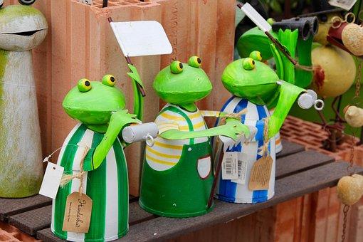 Frogs, Froschdeko, Figures, Deco, Decoration