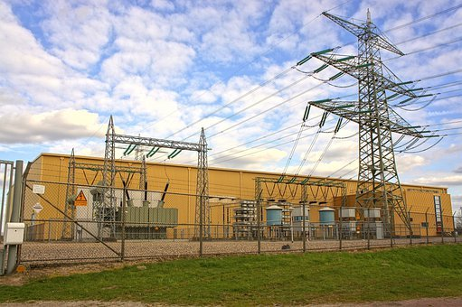 High Voltage Line, Energy, Air, Electricity
