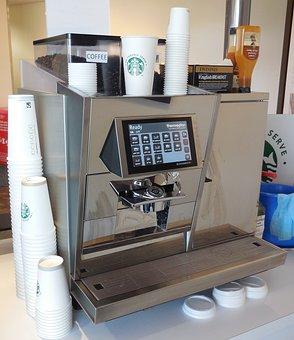 Coffee Machine, Coffee, Espresso, Steel, Equipment