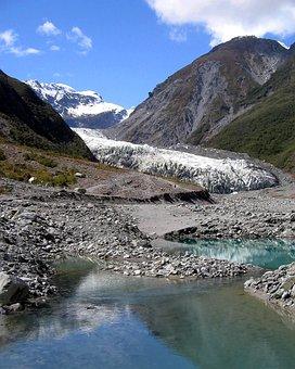 Franz Josef Glacier, New Zealand, Scenic, Glacial