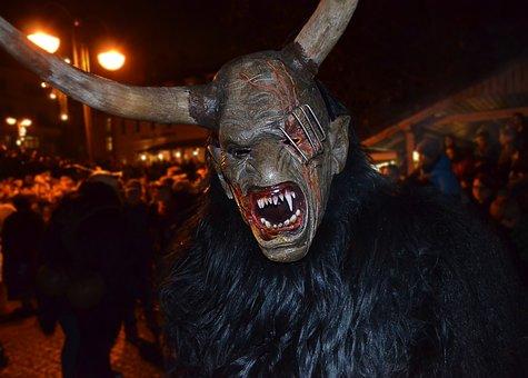 Fun, Mask, Man, Cetra, Being, Fear, Halloween, Monster