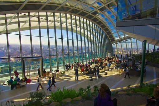 London, Walkie Talkie, Rooftop Garden, Skyscraper