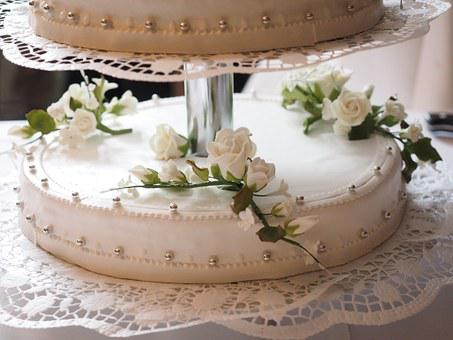 Cake, Wedding Cake, Cream Pie, Marriage, Sweet