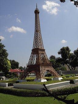 Eiffel Tower, Miniature, Thailand, Worth A Visit
