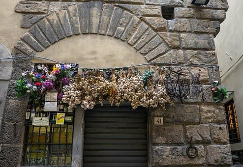 Italy, Decoration, Flowers, Swag, Ornate, Architecture