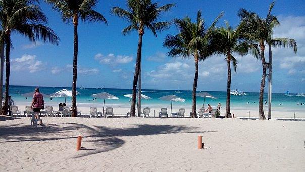 Beach, White Sand, Boracay, Resort, Summer, Philippines