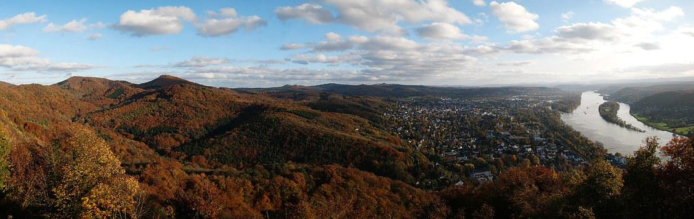 Siebengebirge, Rhine, Bad Honnef Germany, Grafenwerth