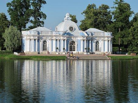 Russia, St Petersburg, Ekaterina's Palace