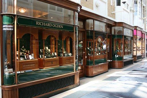 Showcase, Burlington Arcade, Mayfair, London