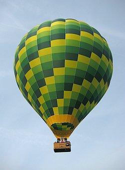Balloon, Shugborough, Staffordshire, England, Hot Air