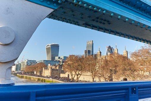 London, City, United Kingdom, Capital, England, Skyline