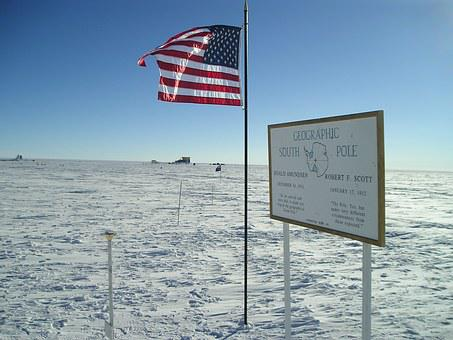 South Pole Station, Geographic South Pole Marker