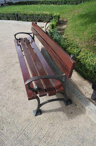 Bench, Poznan, Relaxation, City, The Centre Of, Street