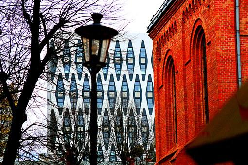 Buildings, The Old And The New, Jezyce District, Poznan