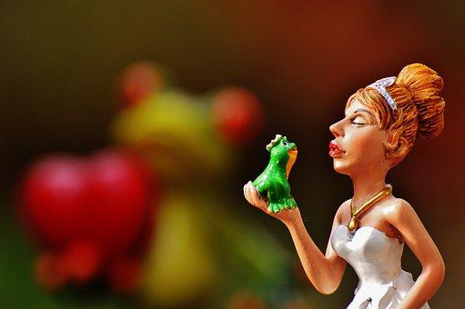 Bride, Kiss The Frog, Love, Funny, Cute, Heart, Deco