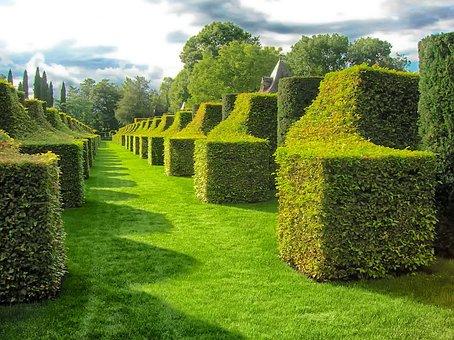 Eyrignac Manor Gardens, Dordogne, France, Summer