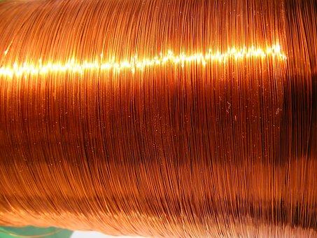 Copper, Enamelled, Lp-lmx, Polyamide, Round, Wire