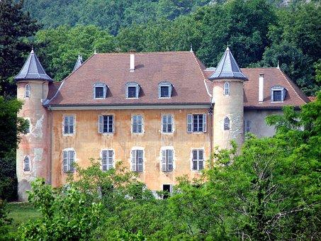 Chateau De Bornessand, France, Castle, Historic