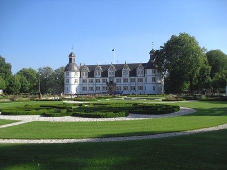 Paderborn, Germany, Neuhaus Schloss, Castle, Landmark