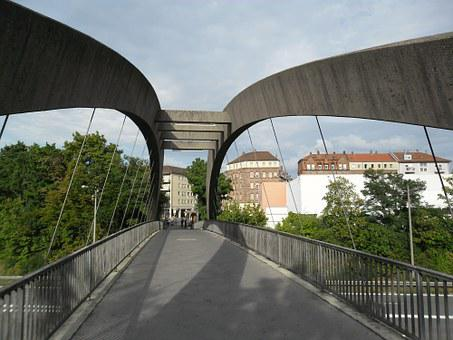 Heister Bridge, Bridge, Pedestrian Bridge