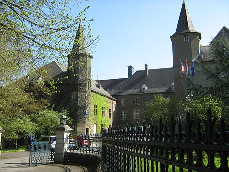 Differdange, Luxembourg, Castle, Historical, Landmark
