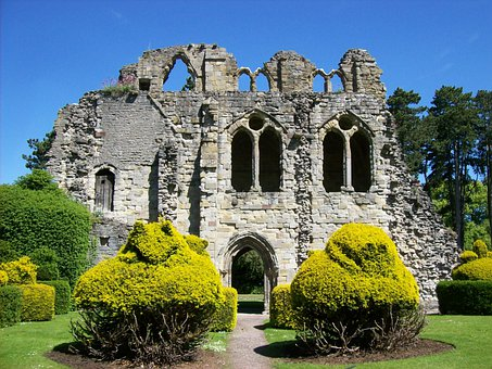 Wenlock Priory, England, Great Britain, History