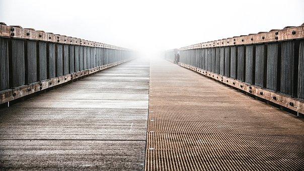 Bridge, Architecture, Wooden, Planks, Brown