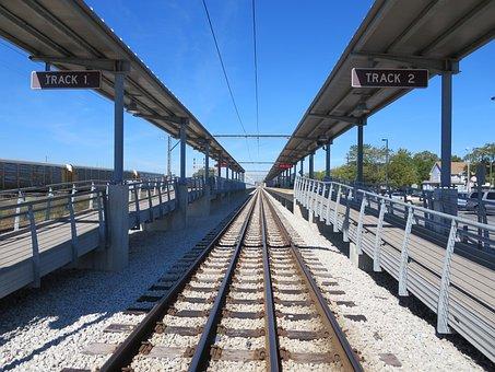 Railway, Public Transport, Platform, Travel, Station