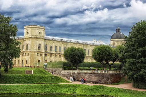 Gatchina Palace, Gatchina, Russia, Building