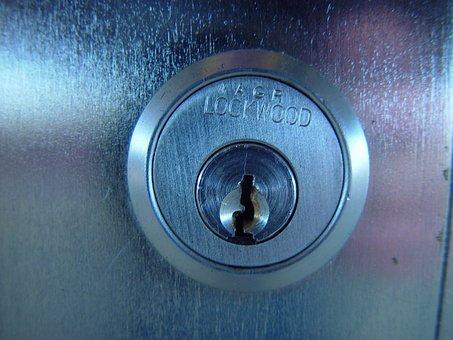 Castle, Key, Security Lock, Metal Cylinder