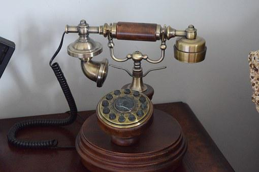 Classic Telephone, Old Phone, Antique Telephone