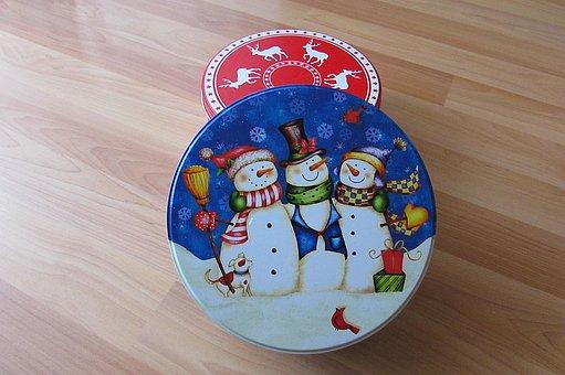 Candy Jars, Christmas Themes, Christmas Box