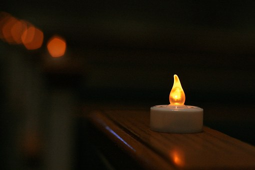 Artificial Candle, Candle, Church, Christmas