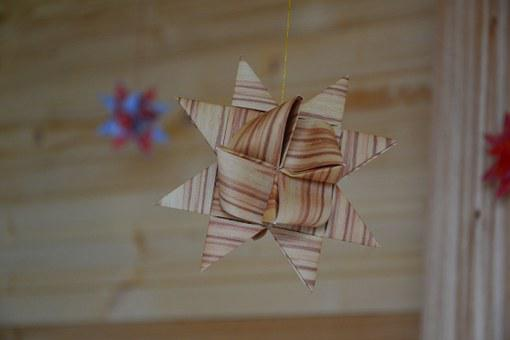 Froebelstern, Christmas, Deco, Advent, Decoration