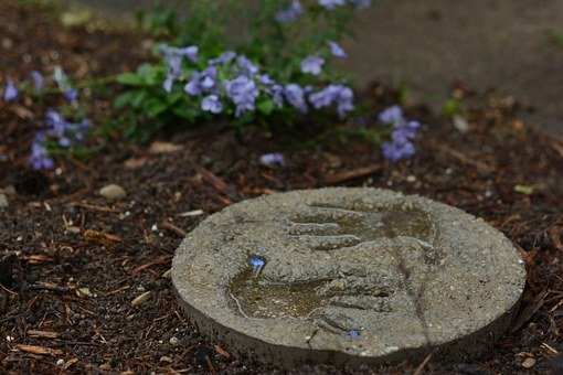 Child, Handprint, Garden, Hand Print, Craft, Flowers