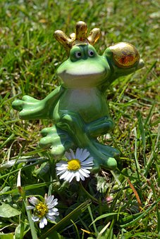 Frog, Frog Prince, Fairytale Characters, Green Meadow