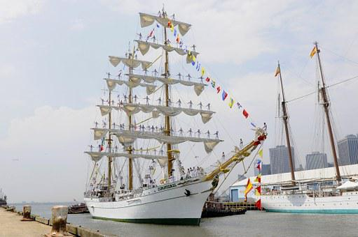 Ship, Sailing, Sailing-ship, Sailing Vessel, Mexican