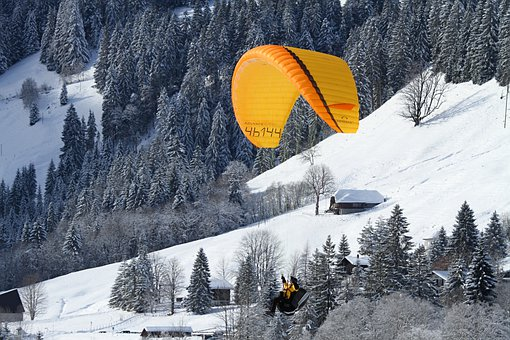 Paraglider, Paragliding, Air Sports, Fly, Sport, Sky