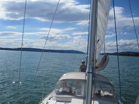 Sail, Lake Constance, Lake, Ship, Sailing Boat