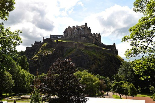 Edinburgh Castle, Edinburgh, Castle, Scotland, City