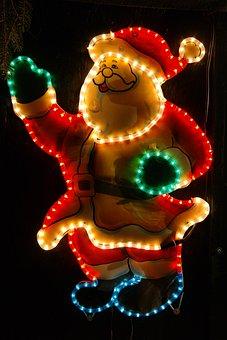 Soft Night Man, Fig, Christmas, Illuminated