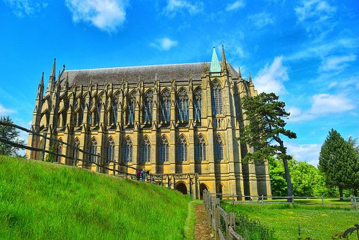 Lancing College, Historical, Building, Architecture, Uk