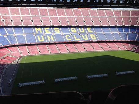 Camp Nou, Stadium, Football, Viva Barca, Barcelona