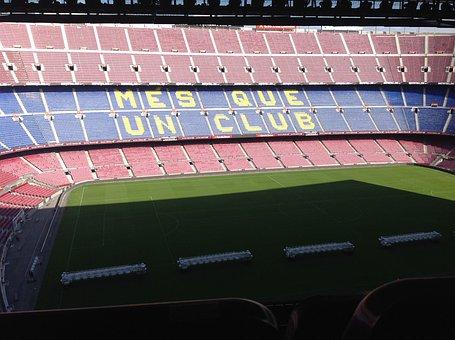 Camp Nou, Stadium, Football, Viva Barca, Barcelona