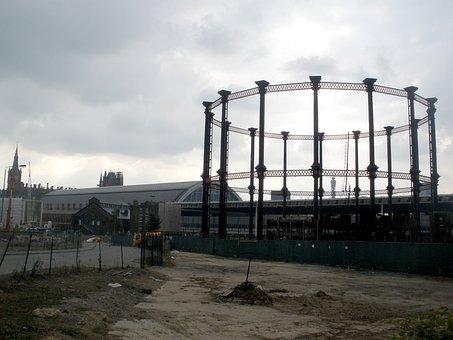 City, Waste Ground, Ground, Urban, Site, Construction
