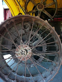 Metal, Tire, Rim, Antique, Iron, Old, Rusty, Steinbach